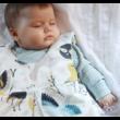 Rainbow baby baba hálózsák