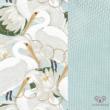 Heron in Lotus Babafészek szett  - babalátogató ajándék