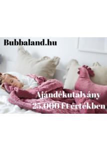 Bubbaland ajándékutalvány : 25.000 Ft