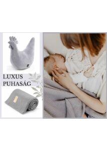 Szürke baba-mama ajándékcsomag
