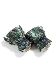 babakocsi kesztyű sötétzöld leveles Botanical