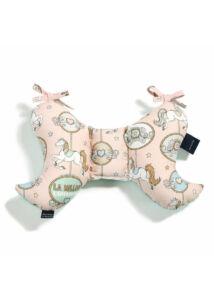 Lunapark Dream menta velvet pillangó párna