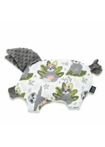 lapos baba párna röfi alak jógázó lajhárok mintával