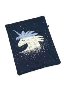 Takaró töltettel - kétoldalas pamut-minky - Universe of Unicorn