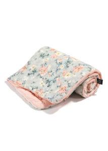 Takaró töltettel - kétoldalas pamut-velvet - Blooming Boutique