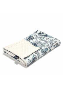 Tavaszi-nyári takaró töltet nélkül - kétoldalas pamut-minky - Lost Kingdom