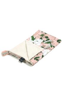 Tavaszi-nyári takaró töltet nélkül - kétoldalas pamut-velvet - Lady Peony