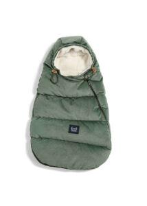 Khaki ASPEN újszülött bundazsák