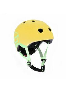 Scoot & Ride  baba bukósisak - LEMON / Citrom