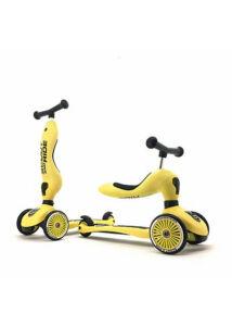 Scoot & Ride Highwaykick 1 citromsárga kismotor