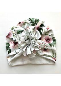 Vadvirágok Őszi-téli turbánka