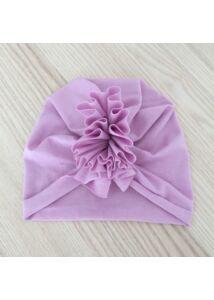 Tavaszi őszi vékony turbánka halvány lila