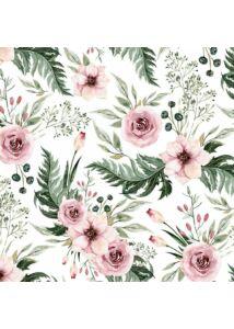 Vadvirágok tavaszi vékony turbán sapka