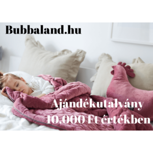 Bubbaland ajándékutalvány : 10.000 Ft