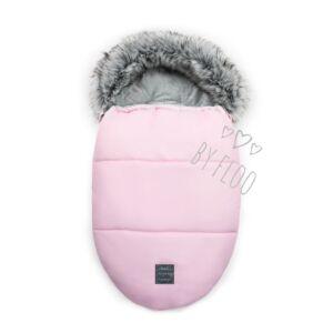 rózsaszín baba bundazsák puha szőrmével