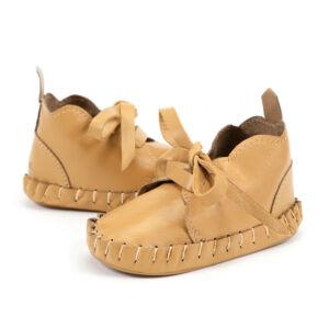 karamell színű bőr babacipő, kocsicipő járni nem tudó babáknak 0-6 hónapos korig