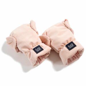 babakocsi bundakesztyű púder rózsaszín színben