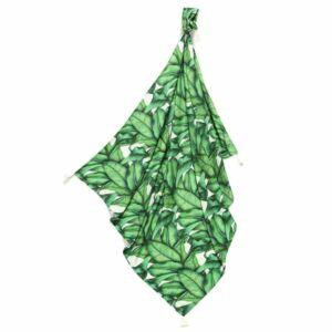 bambusz baba takaró vékony nyári zöld banán levél banána leaves