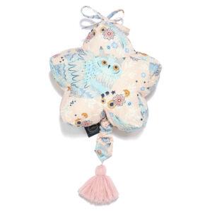felhúzható zenélő játék babáknak rózsaszín-kék álmos bagoly La Millou Sleepy Owls
