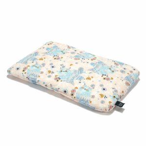 Pamut párna 40 x 60 cm méretben rózsaszín-kék álmos baglyok La Millou Sleep Owls
