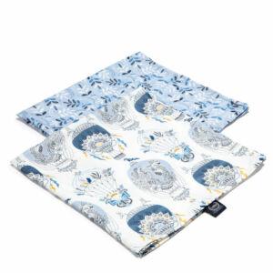 2 darabos textil pelenka bambuszból ezüst ionokkal kék hőlégballon Cappadocia Sky