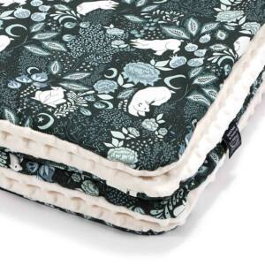 baba takaró töltettel pamut minky ekrü téli jegesmedve mintával
