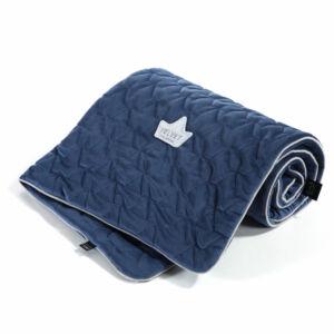 baba takaró velvet prémium anyagból harvard kékszínben