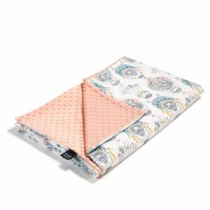baba takaró töltet nélkül tavaszi nyári kétoldalas pamut minky puder rózsaszín hőlégballon cappadocia dream