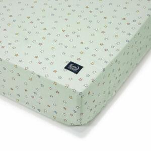 kiságyba való gumis lepedő babáknak vidámparkos mintával 70 x 140 es kiságyra