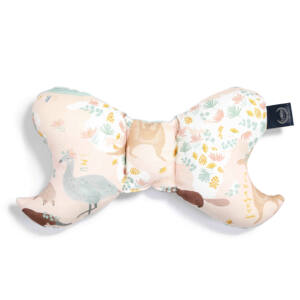 pillangópárna velvet bársony anyagból koala, kenguru, wombat és krokodil mintával Dundee and Friends Pink