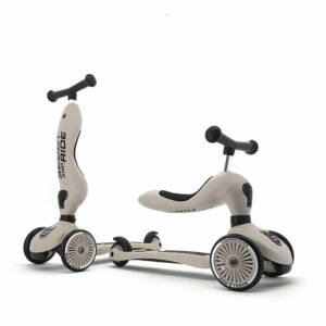 Scoot and ride highwaykick kismotor és roller egyben szürke színben Ash