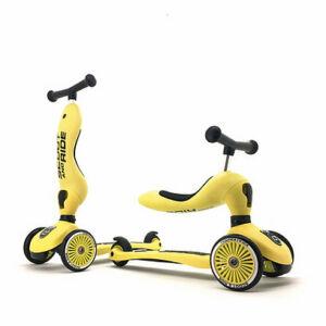 Scoot and ride highwaykick kismotor és roller egyben citromsárga színben Lemon