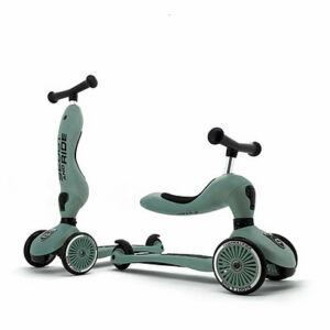 Scoot and ride highwaykick kismotor és roller egyben sötétzöld színben Forest