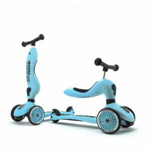 Scoot and ride highwaykick kismotor és roller egyben világoskék színben Lemon
