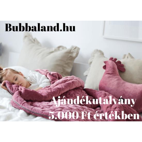 Bubbaland ajándékutalvány : 5000 Ft