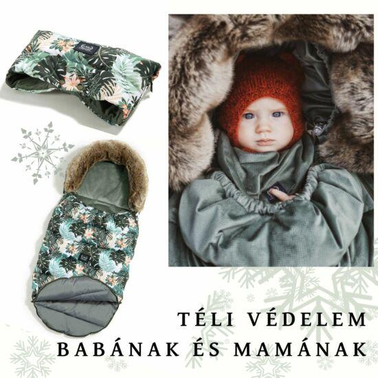 Papagayo baba bundazsák khaki színben dzsungeles mintával