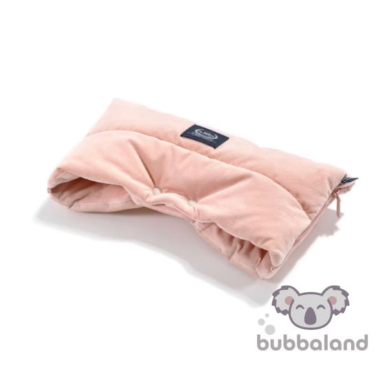 babakocsi kézmelegítő púder rózsaszín színben