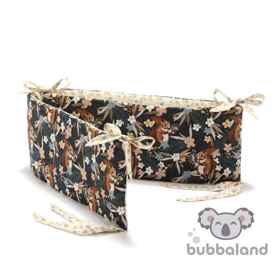 rácsvédő kiságyba bézs és barna erdei mókus La Millou Pretty Barbara