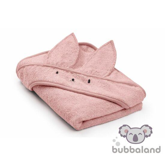 baba pamut törölköző púder rózsaszín színben