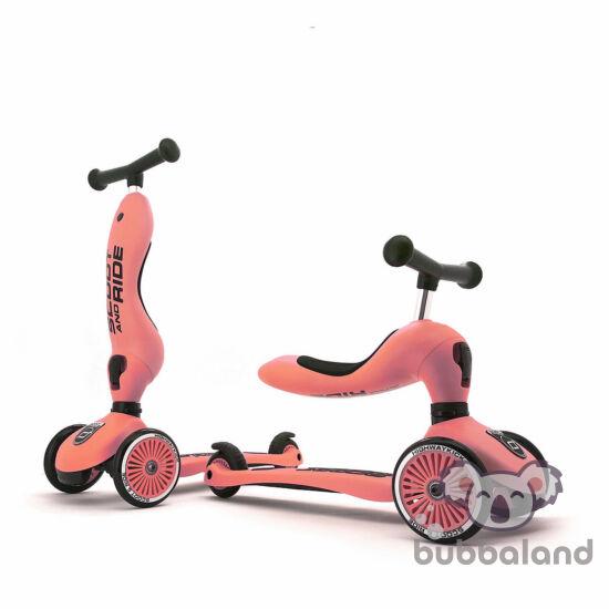 Scoot and ride highwaykick kismotor és roller egyben barack színben Lemon