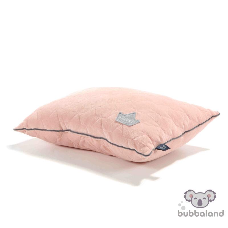 kispárna velvet púder rózsaszín