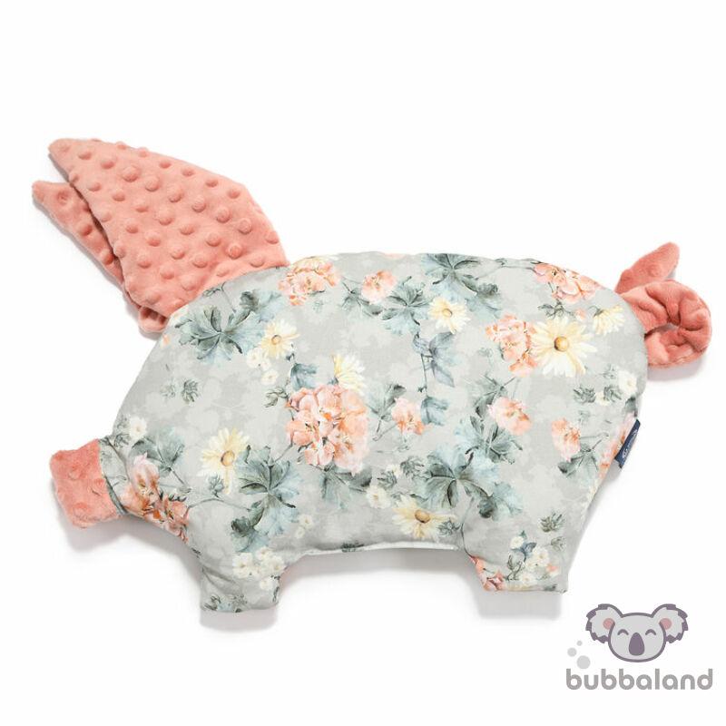 lapos baba párna röfi alak vadvirágos  mintával