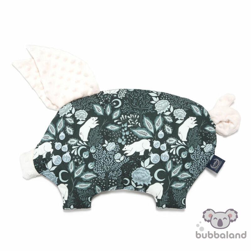 lapos baba párna röfi alakú téli jegesmedve mintával