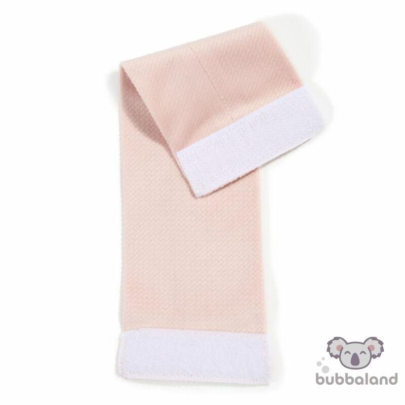Rögzítőszalag pillangó párnához - Púder rózsaszín
