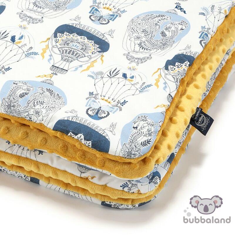 baba takaró töltettel pamut minky méz hőlégballon cappadocia sky