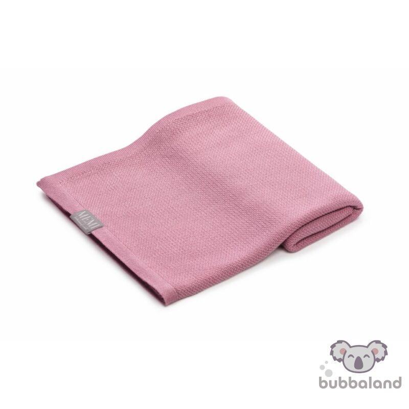 baba takaró bambusz kötött vékony tavaszi nyári vintage rózsaszín