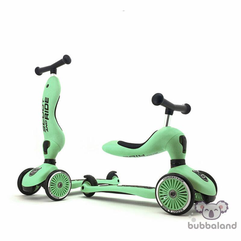 Scoot and ride highwaykick kismotor és roller egyben kiwi színben