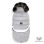 Kép 1/9 - bundazsák kombó méretben 0-3 éves kor között használható prémium velvet anyagból világosszürke színben